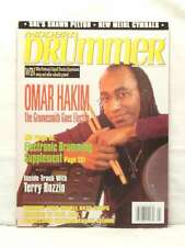 MODERN DRUMMER MAGAZINE OMAR HAKIM SHAWN PELTON TERRY BOZZIO MAY 2000 VERY RARE!