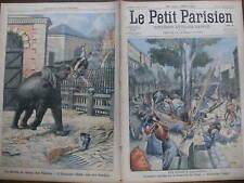 LE PETIT PARISIEN 1905 N 867 UNE BOMBE A BARCELONE