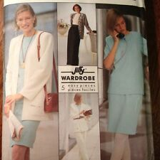 Simplicity 9916 Jiffy Wardrobe Pants Top Skirt Unlined Jacket Sizes 6-24