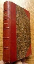Jules Barbery D'Aurevilly 1854 L'Ensorcelee - Portrait Quarter Leather VGC