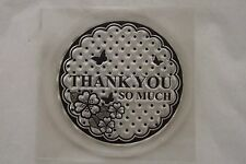docraft mini clear stamp - Thank You so Much  Free Post