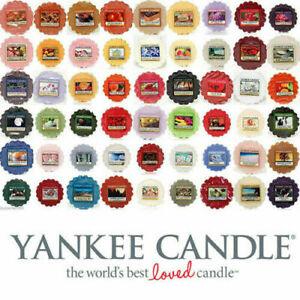 YANKEE CANDLE Wax Tarts Melts Range -Wonderful Scents Mix and Match