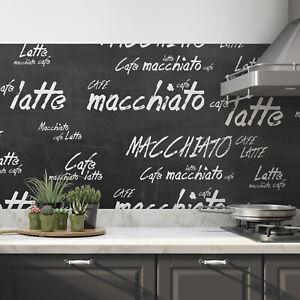 Küchenrückwand Latte Premium 0,5 mm Hart-PVC Folie selbstklebend