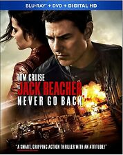 Jack Reacher: Never Go Back (Blu-ray disc ONLY, 2017)