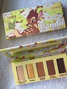 NIB COLOURPOP Disney Bambi Collection 5 Shade BAMBI Eyeshadow Palette