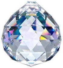 ASFOUR Chandelier 30% Lead Crystal Ball Prism Suncatcher Weddings Pendant 30mm
