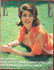 ▬►Elle 813 (1961) Françoise Brion_Marcello Mastroianni_Mode Fashion Vintage