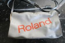 Roland TB-303 TR-606 Carry Case Plastic Vinyl Silver Bag Rare Accessory