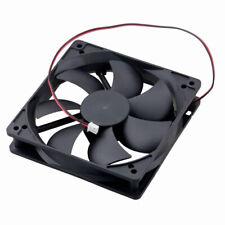 2PCS DC 120mm 25mm  12V 2P 12025 Sleeve Brushless Computer Cooling Cooler Fan