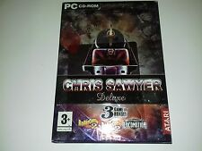 PC Game Chris Sawyer Deluxe 3 Game set inc Rollercoaster Tycoon 2 Locomotion