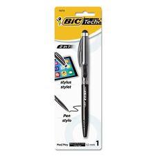 Bic Tech 2 in 1 Retractable Ball Pen & Stylus - BPSTP11SBK