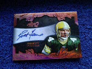 2017 Leaf Q Packers Brett Favre Auto Autograph