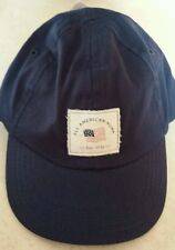 """NWT Carter's Baby Boys Cap """"All American Hunk"""" Navy Blue size 3-9 Months"""
