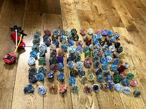 Takara Tomy Beyblade Burst Huge Lot Rare about 100 with Launcher  import Japan