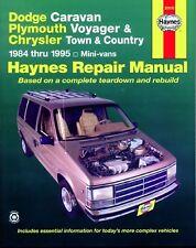 Reparaturanleitung Chrysler Voyager / Dodge Caravan 84-95