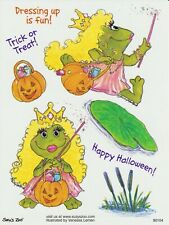 Suzys Zoo Scrapbooking Stickers 25 Sheets Halloween Frog Princess Trick or Treat