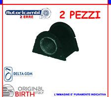2PZ GOMMINI BOCCOLE BARRA STABILIZZATRICE DIAMETRO 22 ALFA 147 156 GT BIRTH 4527