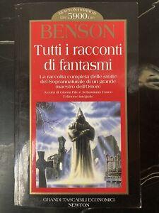 E. F. BENSON - Tutti i racconti di fantasmi G. PILO PRIMA EDIZIONE 1995 horror