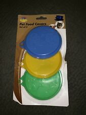New listing Nwt Pet Food Covers, Set of 3