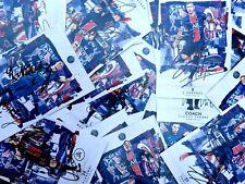 Photos Officielles PARIS SAINT GERMAIN signed JOUEURS psg 2015 à 2021