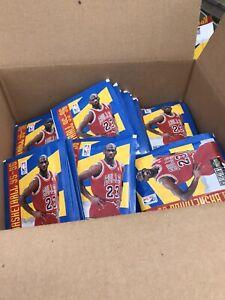 1995-96 Upper Deck NBA Sticker Packs, LOT Of 500 Unopened Packs
