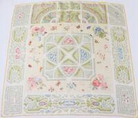 ETRO Silk Scarf Vintage Italian Gardens 90 cm x 90 cm LARGE