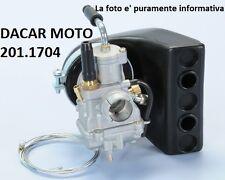 201.1704 CARBURADOR POLINI CP D.17,5 C.FILTRO VESPA 50 SPECIAL