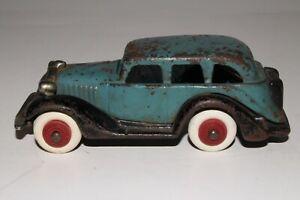 1930's Hubley Cast Iron Terraplane Sedan, Original