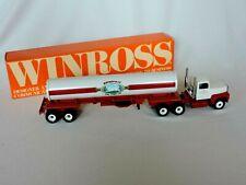 Winross Rothsville PA Volunteer Fire Company Tanker Truck Semi 1988 Diecast