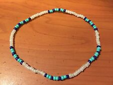 Surfer Nylon Cord Seed Bead Anklet Bracelet S234