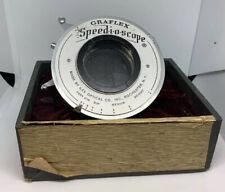 Vintage Graflex Speed-i-o-scope SHUTTER LENS