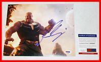 🔥 Josh Brolin SIGNED Thanos Avengers Infinity War 8X10 Picture PSA JSA 🔥