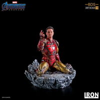 1/10 Iron Studios Iron Man Statue Avengers 4 Figure MARCAS21519-10 Model Doll