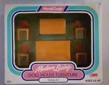 1991 Handi-Craft Modern Living Elegant Doll House Furniture~Dining Room Set~MIB