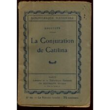La conjuration de Catilina / 1924 / Salluste / Réf11387