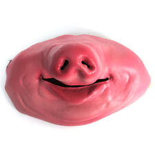 Latex Half Face Pig Nose Snout Mask Fancy Dress Stag Night Novelty Fun Animal