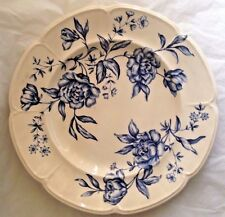 "Blue Rose Chintz Windsor ware 10"" Dinner Plate Johnson Bros"