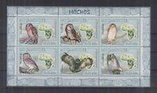 126.MOZAMBIQUE 2007 STAMP S/S BIRDS, OWLS. MNH