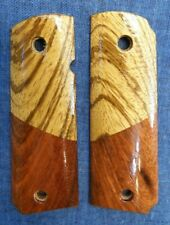 1911 Grips Full Size Rose Wood Two Tone *Fast Usa Ship