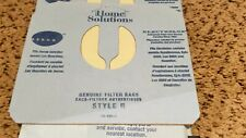Lot of 7 HOME SOLUTIONS Vacuum GENUINE Filter Bags Style R ELECTROLUX AERUS