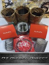 D950 New Overhaul Rebuild kit with Liners for kubota D950