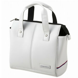TaylorMade Auth-Tech Round Tote Pouch Case Golf Sports Women's Bag (White) TB672