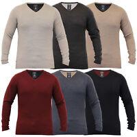 Mens Knitted Jumper Pullover Top Winter Sweater By Kensington Eastside