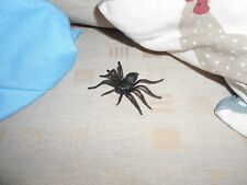 Spooky Scary DECORATION EVIL BLACK SPIDER Place anywhere to scare Brand New
