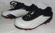bd8d8609d Youth Kids Boys Brava White   Black Soccer Baseball Cleats Size 12