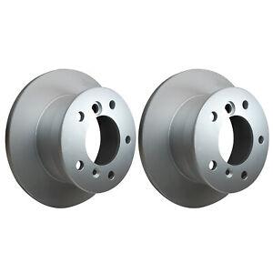 Rear Brake Discs 272mm fits VW LT 28-46 2DD,2DA,2DH 2.8 TDI