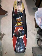 Vintage Jeremy Kovak Full Carbon X Board WAKEBOARD  ICONN Gravitypro 97 XGames