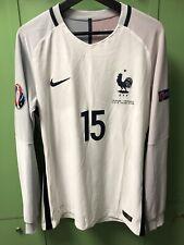 Maillot France FFF Pogba 2016 Worn Player Version Preparé Issue Nike fff