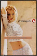 Original 1999 Christina Aguilera Vintage Poster Another Big Product #Ca001
