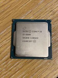 Intel Core i5 6600 3.3Ghz Processor